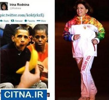 انتشار عکسی جنجالی از اوباما و همسرش در توئیتر