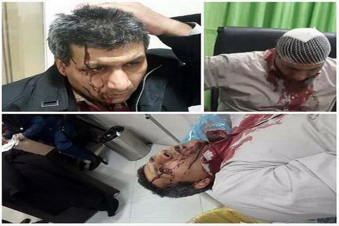 انتشار تصاویری در اینستاگرام از حمله به یک پزشک در مشهد