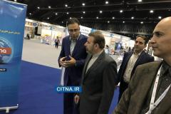 گزارش تصویری/ بازدید وزیر ارتباطات از شرکتهای ایرانی در نمایشگاه ITU 2016