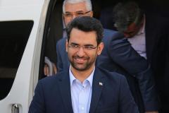 وزیر ارتباطات و فناوری اطلاعات وارد استان گلستان شد