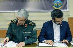 امضای تفاهم نامه رییس ستاد کل نیروهای مسلح با وزیر ارتباطات و فناوری اطلاعات؛ با مهارت آموزی سربازان در حوزه ای.سی.تی زمینه توسعه کسب و کارهای نوپا فراهم می شود