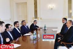فیلم/ دیدار وزیر ارتباطات کشورمان با رئیس جمهور آذربایجان