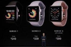 ساعت هوشمند اپل با قابلیت سلولار رونمایی شد