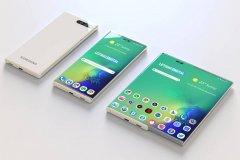 تلفن همراه جدید سامسونگ با نمایشگر جمع شونده