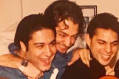 """عکس 20 سال قبل """"بهرام رادان"""" در یک جشن تولد"""