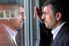 سلفی یک دختر با احمدی نژاد در مسجد جمکران