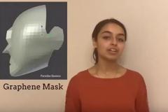 طرح کارآمد یک دانشآموز برای ساخت ماسک کووید-۱۹/ ماسک گرافینی پوشیده از نیتروژن، مانعی مطمئن در برابر ذرات ویروس کرونا