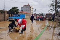 اعلام اطلاعات حساب هلال احمر نزد پست بانک برای دریافت کمکهای مردمی به سیلزدگان شمال
