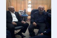 ارائهی گزارش شرکت مخابرات پیرامون قرارداد مستقیم دائمی با کارگزاران مخابرات روستایی به رئیس فراکسیون کارگری مجلس