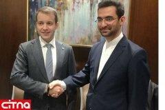 دیدار وزرای جوان ارتباطات ایران و روسیه