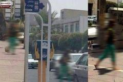 دستگیری زن بی حجاب در خیابان های بوشهر (+عکس)