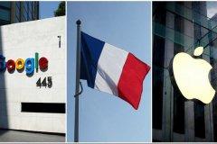 شکایت فرانسه از شرکت های گوگل و اپل