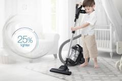 گردبادی برای نظافت خانه