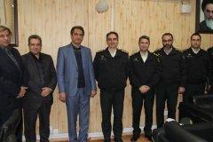 تقدیر و تشکر پلیس فتای تهران بزرگ از اقدامات ارزشمند امور حراست پست بانک ایران