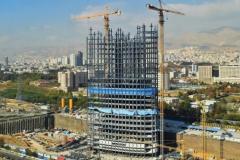 فیلم/ سرعتبخشی به روند اجرای کامل پروژهی برج شرکت مخابرات ایران