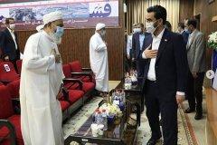 اتصال ساکنین جزایر خلیج فارس به شبکهی ملی اطلاعات با فیبرنوری