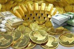 آخرین قیمت طلا، سکه و دلار امروز ۹۹/۰۷/۰۲