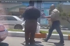 واکنش شهرداری تهران به فیلم ضرب و شتم یک دستفروش توسط مأموران سد معبر