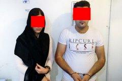 دستگیری دختر و پسر سارق گوشی موبایل در خانه مجردی (+عکس)