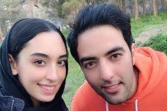 کیمیا علیزاده با انتشار این عکس اعلام کرد عروس شده