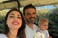 جدیدترین استوری همسر استراماچونی و خوشحالی از سفر به ایران