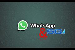 برقراری نخستین تماس تصویری واتساپ با شبکه 5G