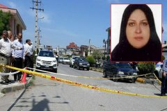 اولین عکس ها از خانم وکیل و صحنه قتل در لنگرود