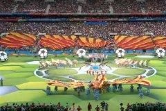 نمایش فوتبال و عشق در افتتاحیه جام جهانی