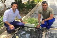 تسلیت اینستاگرامی دایی به برادران مجیدی