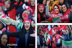 واکنش صفحه رسمی لیگ قهرمانان به حضور بانوان در آزادی