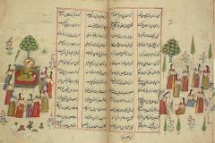 نگهداری از هزاران نسخه خطی فارسی در کتابخانهای در قلب اروپا