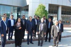 حضور مدیرعامل مخابرات ایران در منطقه قطب انرژی کشور