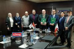"""انعقاد قرارداد شرکت دانش بنیان """"نیان الکترونیک""""با سوریه در زمینهی تجهیزات و خدمات مهندسیتامین انرژی مخابراتی"""