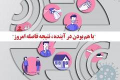 دورکاری عمومی کارکنان شرکت مخابرات ایران تا آخر تیرماه، در پی شیوع مجدد بیماری کرونا