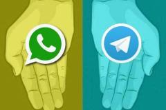 حضور کاربران ایرانی در واتسآپ از تلگرام پیشی گرفت