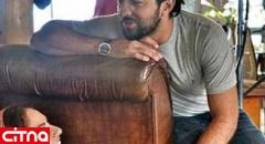 عکس پشت صحنهای بهرام رادان با مهناز افشار! (+عکس)