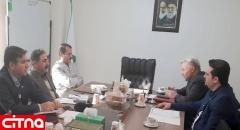 جلسه توسعه همکاریهای مشترک بین پست و پست بانک ایران برگزار شد
