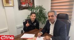 عقدقرارداد مهاجم پیشین پرسپولیس با این باشگاه