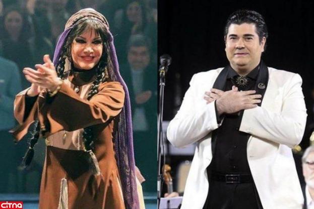 اینستاپست سالار عقیلی: شایعه حرکات موزونِ خانم فرزانه کابلی در کنسرت کذب محض است