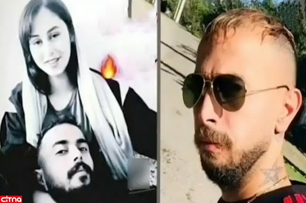 عکس خصوصی رومینا اشرفی و بهمن دوست پسرش/ این عکس پدر تالشی را از خود بی خود کرد