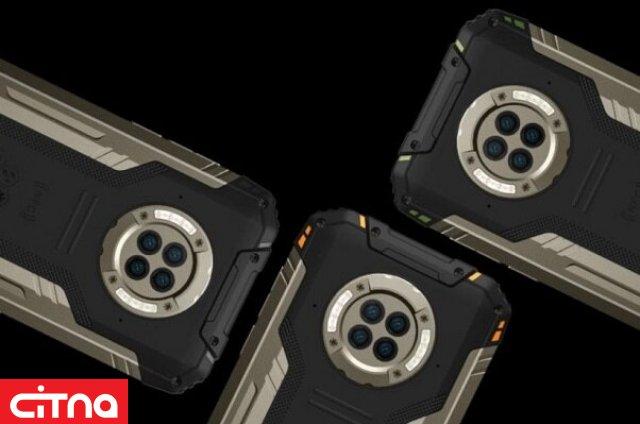 عرضهی اولین گوشی جان سخت با دوربین دید در شب