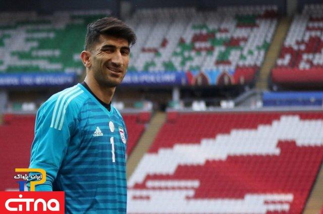 واکنش بیرانوند به محرومیتش: خداحافظ فوتبال ایران!