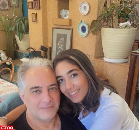 عکس خصوصی دختر ایرج نوروزی دست به دست شد!