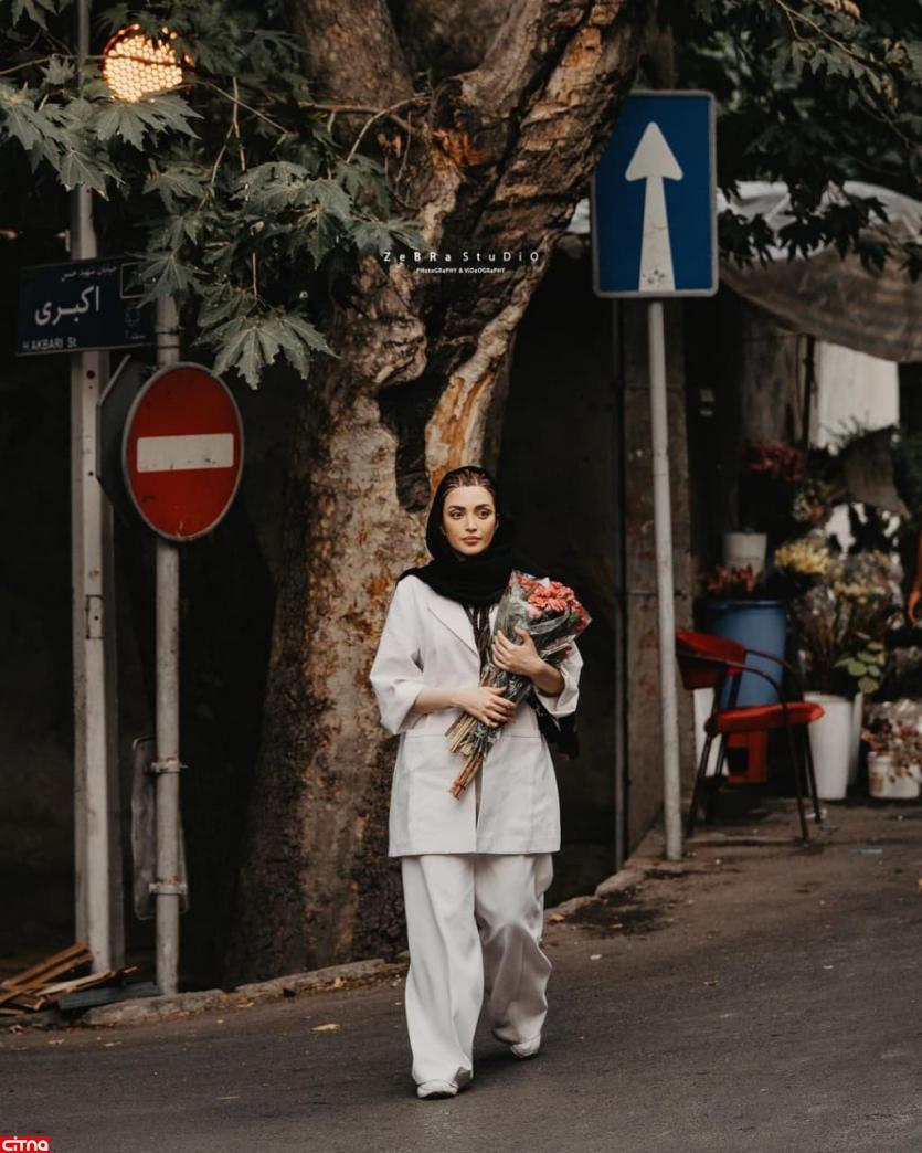 عیدی بهنوش طباطبایی در پستی زیبا برای مردم ایران
