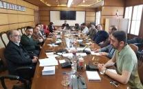 بیژن مقدم و مسعود فاتح به نمایندگی از مدیران مسوول، حبیب عباسی و علی اصغر شفیعیان به نمایندگی از سردبیران پایگاههای خبری انتخاب شدند