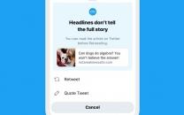 """ویژگی """"read before sharing"""" توئیتر به iOS می آید"""