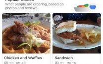 نقشه گوگل به زودی غذاهای محبوب هر رستوران را مشخص میکند