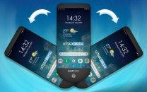حق امتیاز تلفن همراهی با سه نمایشگر ثبت شد