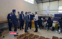 معاون برنامهریزی وزارت ارتباطات از خط تولید مودمهای اتصال صنعت میانه در پارک سجاد بازدید کرد