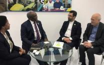 دیدار مهندس آذری جهرمی با وزیر ارتباطات آفریقای جنوبی/ توافق برای افزایش دو برابری سطح همکاریهای دو کشور در حوزه ICT